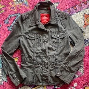 Espirit Women's Military Style Jacket